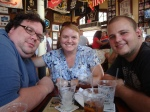 At Sloppy Joe's with Chris and Julie